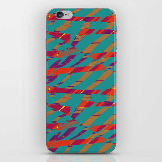 TORN STRIPES iPhone & iPod Skin