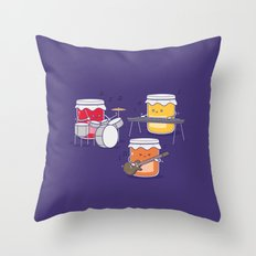 Jam Session Throw Pillow