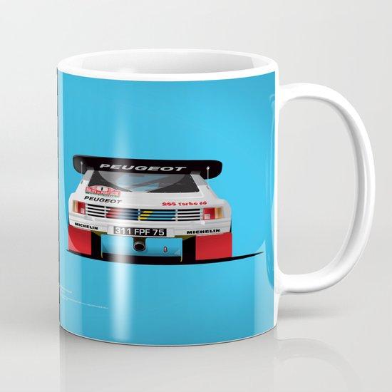 Group B Edition, N.º1, Peugeot 205 T16 E2 Mug