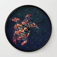 The Pattern Tortoise Wall Clock