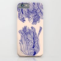 iPhone & iPod Case featuring Dark tulip by Annike