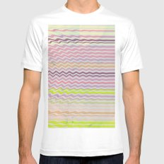 Paint Me Pretty White SMALL Mens Fitted Tee