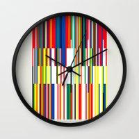 National Colors Wall Clock