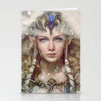 Epic Princess Zelda From… Stationery Cards