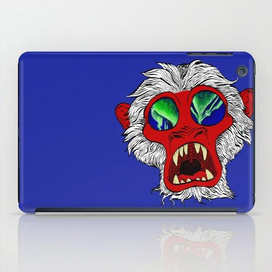 """Arctic Monkey"" by Virginia McCarthy iPad Case"
