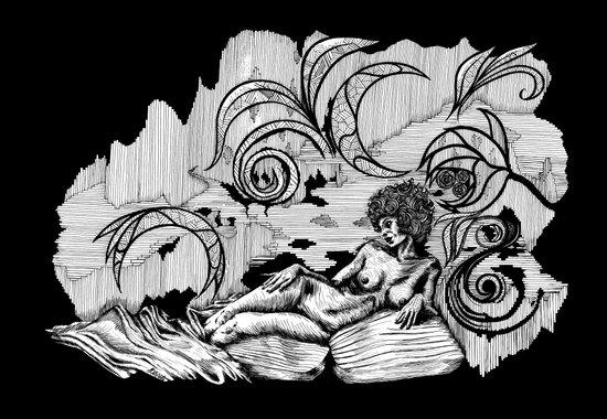 Psichodelia Art Print