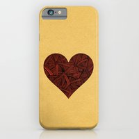 iPhone & iPod Case featuring - heart line - by Magdalla Del Fresto