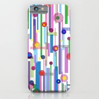iPhone Cases featuring Plink (see also Plink Cherry and Plink Purple) by Shawn King