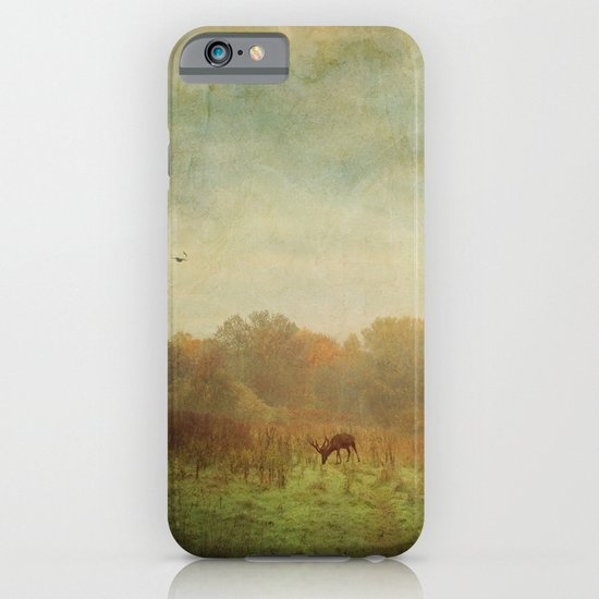 Idyllic painterly fall morning iPhone & iPod Case