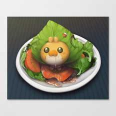 Pokemon Salad Canvas Print