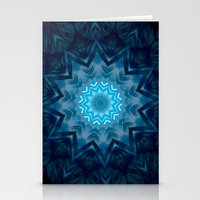 Ice Star  Stationery Cards