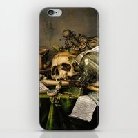 Vintage Vanitas- Still Life with Skull iPhone & iPod Skin