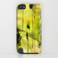 iPhone & iPod Case featuring Dancing Flowers Abstract by Judy Palkimas