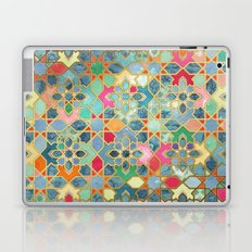 Gilt & Glory - Colorful Moroccan Mosaic Laptop & iPad Skin
