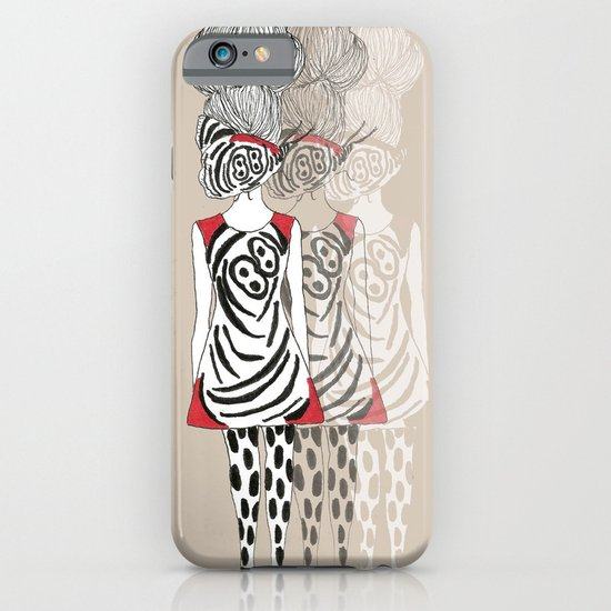 Butterfly Girl iPhone & iPod Case