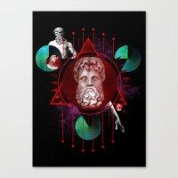 Geometric Gods Canvas Print
