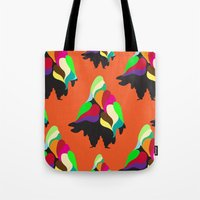 Holiday Mountain Suit Tote Bag