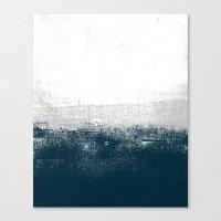 Ocean No. 1 - Minimal Oc… Canvas Print