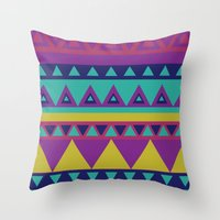 Aztec 1# Throw Pillow