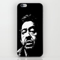 Serge Gainsbourg iPhone & iPod Skin