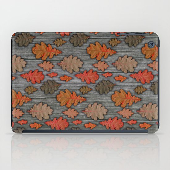 Patterns of Nature - Autumn Oak Leaves iPad Case