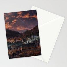 Doom Looms Around The Village Stationery Cards