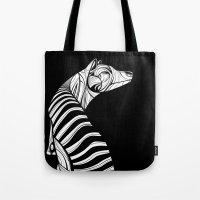 Thylacine (Tasmanian Tiger) Tote Bag