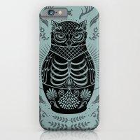Owl Nesting Doll (Matryoshka) iPhone 6 Slim Case