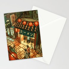 Ramen in the Alley Stationery Cards