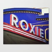 Vintage Theater Sign, San Francisco Canvas Print