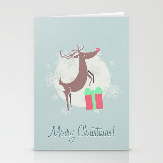 Merry Christmas! Stationery Card