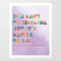 It's Easy to Imagine Art Print