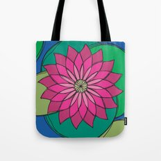 Lotus Tote Bag