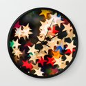 Oh Starry Night Wall Clock