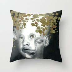 Golden Child Throw Pillow