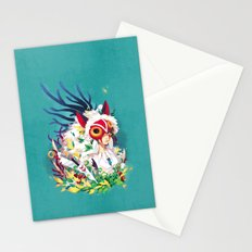 Princess Mononoke Stationery Cards