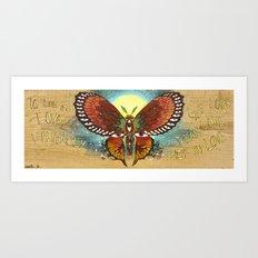 Awaken, Transform Art Print