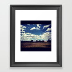 :) Framed Art Print
