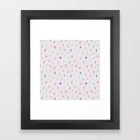Bright Letters Framed Art Print