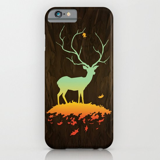 Fawn and Flora iPhone & iPod Case