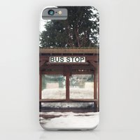 Slocan City Bus Stop iPhone 6 Slim Case