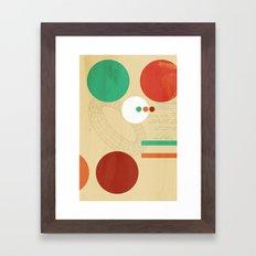 Orbital Secret Framed Art Print