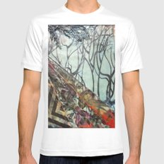 grimm Mens Fitted Tee SMALL White