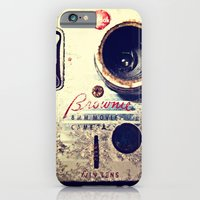 iPhone & iPod Case featuring Brownie 8mm by Four Trees Photography