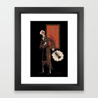I Think I Left The Oven … Framed Art Print
