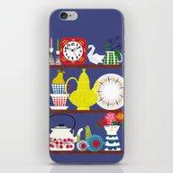 Scandinavian Shelf Colle… iPhone & iPod Skin