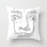 Salvador Dalì WordsPort… Throw Pillow