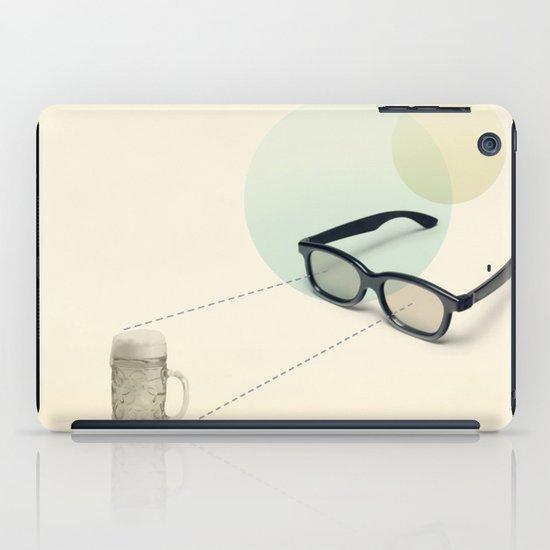 beer goggles iPad Case