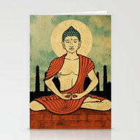 Meditating Buddha Stationery Cards