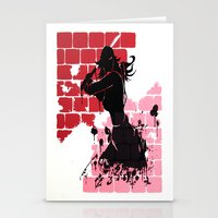 Woman Warrior Stationery Cards